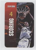 Scoring - Slam Dunk (David Robinson)