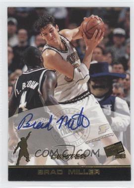 1998 Press Pass - Autographs #BRMI - Brad Miller