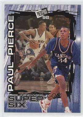 1998 Press Pass - Super Six #S5 - Paul Pierce