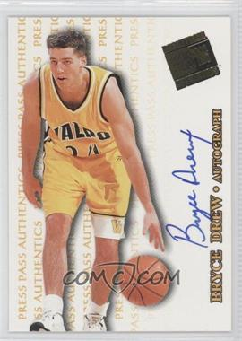 1998 Press Pass Authentics - Autographs #BRDR - Bryce Drew