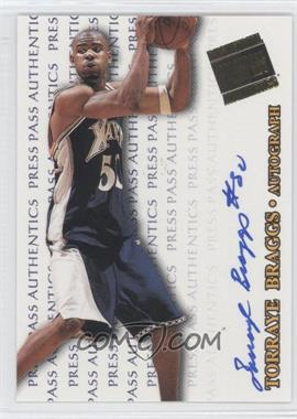 1998 Press Pass Authentics - Autographs #TOBR - Torraye Braggs