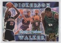 Michael Dickerson, Antoine Walker