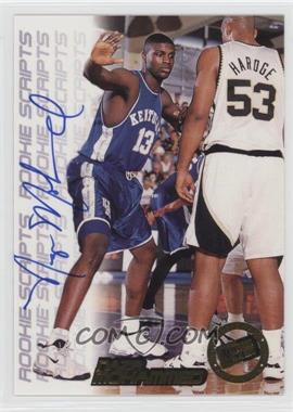 1998 Press Pass Double Threat - Rookie Scripts #NAMO - Nazr Mohammed