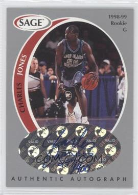 1998 SAGE - Authentic Autograph - Silver #A22 - Charles Jones /400
