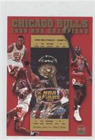 1998 NBA Champions: Chicago Bulls [Noted] #/25,000
