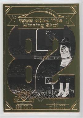 1998 Upper Deck Collectibles Michael Jordan 22K Career Highlights - [Base] #1 - Michael Jordan /23000