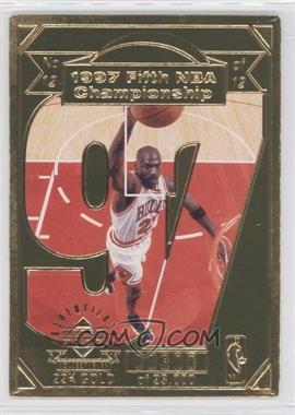 1998 Upper Deck Collectibles Michael Jordan 22K Career Highlights - [Base] #12 - Michael Jordan /23000
