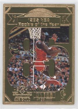 1998 Upper Deck Collectibles Michael Jordan 22K Career Highlights - [Base] #4 - Michael Jordan /23000