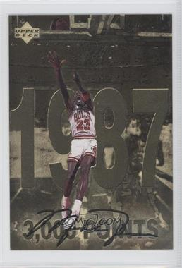 1998 Upper Deck Gatorade Michael Jordan - [Base] #3 - 3,000 Points (1987)