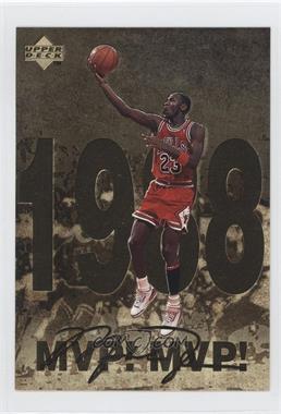 1998 Upper Deck Gatorade Michael Jordan - [Base] #4 - MVP! MVP! (1998)
