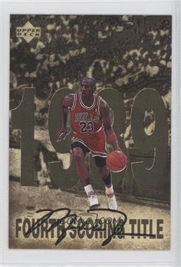 1998 Upper Deck Gatorade Michael Jordan - [Base] #5 - Fourth Scoring Title (1989)