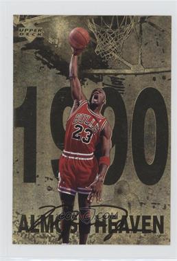 1998 Upper Deck Gatorade Michael Jordan - [Base] #6 - Almost Heaven (1990)