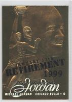 Michael Jordan (Retirement Overstrike) /9923