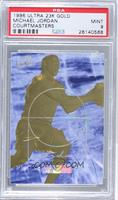 Michael Jordan (Blue Cloud Background, HoloFoil Name) [PSA 9]