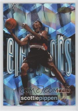 1999-00 Flair Showcase - Elevators #7 E - Scottie Pippen