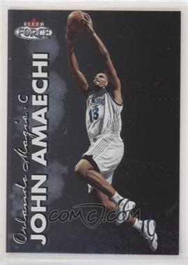 1999-00 Fleer Force - [Base] #75 - John Amaechi