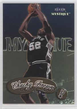 1999-00 Fleer Mystique - [Base] - Gold #9 - Chucky Brown