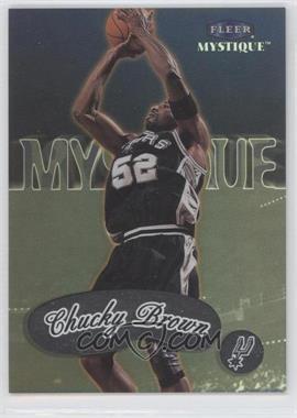 1999-00 Fleer Mystique - [Base] #9 - Chucky Brown