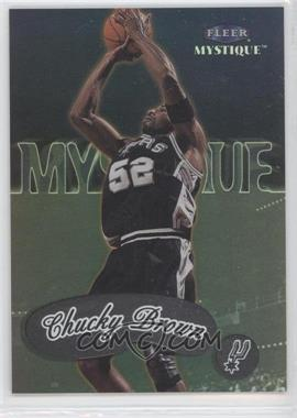 1999-00 Fleer Mystique - [Base] #9 - Chucky Brown