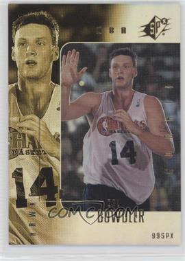 1999-00 SPx - [Base] #107 - Cal Bowdler /3500