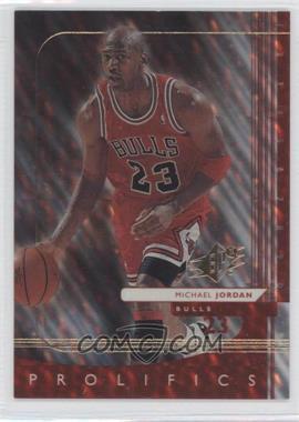 1999-00 SPx - SPx Prolifics #P1 - Michael Jordan
