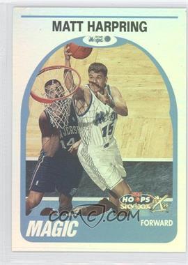 1999-00 Skybox NBA Hoops Decade - [Base] - Hoopla Plus #32 - Matt Harpring