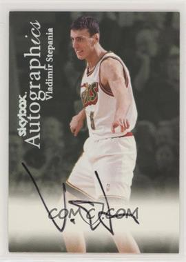 1999-00 Skybox Premium - Autographics #VLST - Vladimir Stepania [NoneEXtoNM]