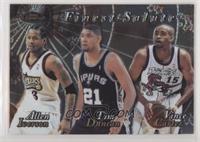 Allen Iverson, Tim Duncan, Vince Carter
