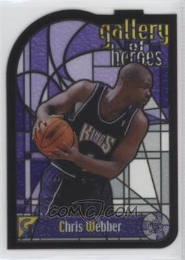 1999-00 Topps Gallery - Gallery of Heroes #GH8 - Chris Webber