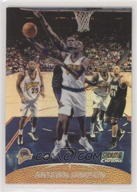 1999-00 Topps Stadium Club Chrome - [Base] - Refractor First Day Issue #3 - Antawn Jamison /25