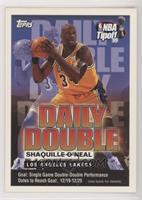 Shaquille O'Neal (12/19 - 12/25)