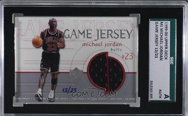 free shipping f4268 40da6 1999-00 Upper Deck - Game Jersey #MJ - Michael Jordan /23 ...
