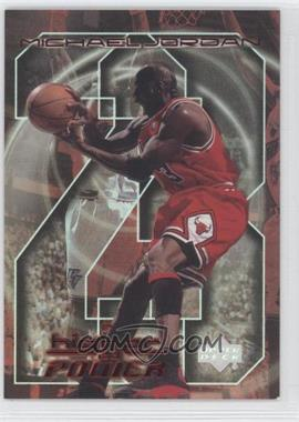 1999-00 Upper Deck - Michael Jordan A Higher Power #MJ10 - Michael Jordan