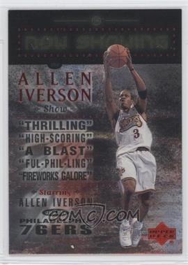 1999-00 Upper Deck - Now Showing #NS20 - Allen Iverson