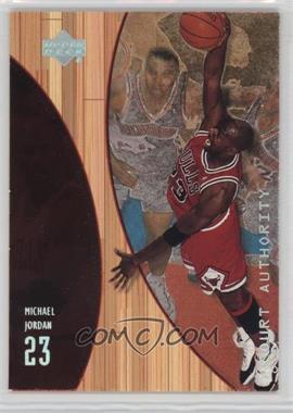 1999-00 Upper Deck Hardcourt - Court Authority #A10 - Michael Jordan