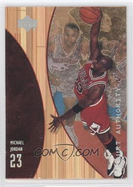 1999-00 Upper Deck Hardcourt - Court Authority #A10 - Michael Jordan