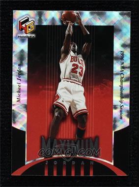 1999-00 Upper Deck HoloGrFX - Maximum Jordan #MJ4 - Michael Jordan