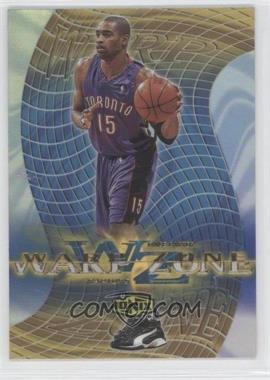 1999-00 Upper Deck Ionix - Warp Zone #WZ14 - Vince Carter