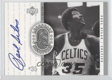 1999-00 Upper Deck NBA Legends - Legendary Signatures #PS - Paul Silas