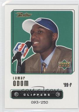 1999-00 Upper Deck Retro - [Base] - Gold #110 - Lamar Odom /250