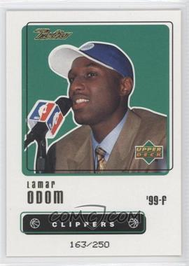 1999-00 Upper Deck Retro - [Base] - Gold #110 - Lamar Odom /250