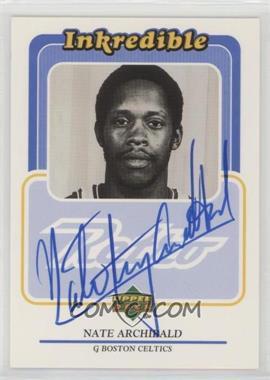 1999-00 Upper Deck Retro - Inkredible - [Autographed] #NA - Nate Archibald