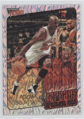 1999-00 Upper Deck Ultimate Victory - [Base] - Parallel 100 #100 - Michael Jordan /100