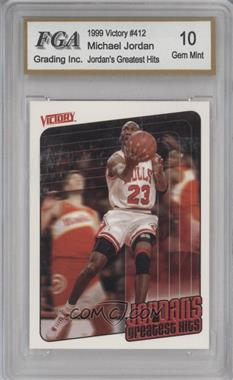 1999-00 Victory - [Base] #412 - Michael Jordan [ENCASED]
