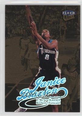 1999 Fleer Ultra WNBA - [Base] - Gold Medallion Edition #43G - Janice Braxton