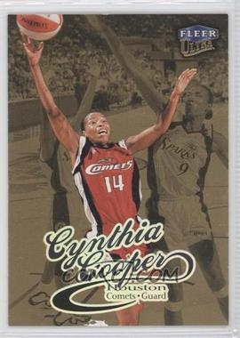 1999 Fleer Ultra WNBA - [Base] - Gold Medallion Edition #82G - Cynthia Cooper