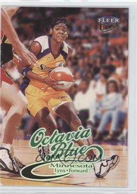 1999 Fleer Ultra WNBA - [Base] #16 - Octavia Blue