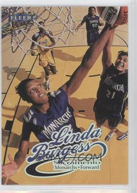 1999 Fleer Ultra WNBA - [Base] #72 - Linda Burgess