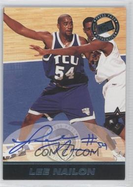 1999 Press Pass SE - Autographs - Blue #LENA - Lee Nailon /500