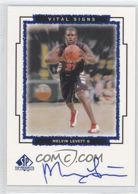 1999 SP Top Prospects - Vital Signs - [Autographed] #ML - Melvin Levett